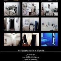 1 1/2 bedroom flat