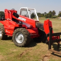 Manitou telescopic telehandler at Auctioneer Discount Price
