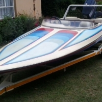 Speedboat with all you need