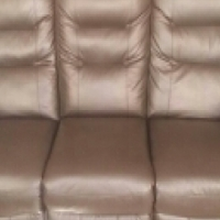 craft and everest black leather couches