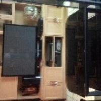 bargen steel &glass wall unit