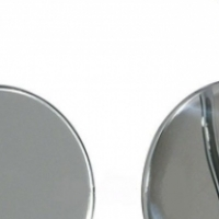 Chrome Peep Mirrors for Hot Rods