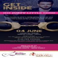 Get Inside His Dirty Little Mind - Bella Rouge's Ladies Night 4th June!