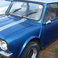 Mini 1275 Twin Carbs  GTS 1978 Blue Lic Excellent condition R19 900-00  Phone Nico 079 601 9813