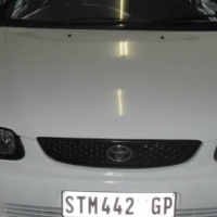 Toyota Tazz 1.3 2005 Model 5 Doors Factory A/C and C/D Player.