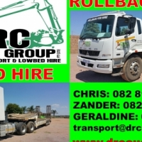 Transport services: Lowbed & Rollback