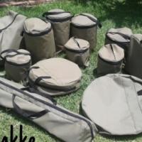 Custom-made canvas bags
