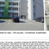 Beautiful apartments for sale – 24h security – Scottsdene, Kraaifontein