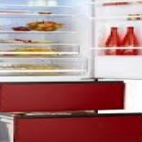 Brand new colour combi fridges only from Haier Italy!