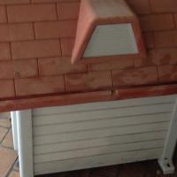 Dog house medium dog can be dismantle led