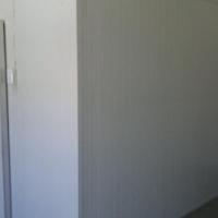 Secondhand Blast Freezer room 2,4m x 2,4m x 2,4m High with swing door - Complete