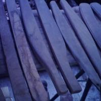 Verskeie stelle soliede hout bank,stoel armlenings