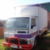 Nissan Cabstar for stripping