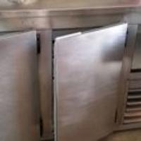 Silver bar fridge