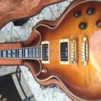 Ibanez Artist Custom sunburst electric guitar