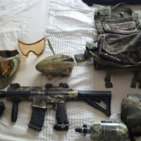 Paint ball gear to swop or sell