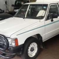 1998 Toyota Hilux 2800 Diesel Single Cab with 236000Km's, Service History
