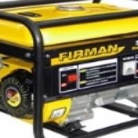 Generator, FirmanSPG2500  as new