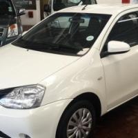 2013 Toyota Etios,96000km,Service History,Aircon,Spare keys