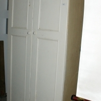 Cupboard - with shelves.