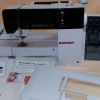 Demo Bernina 580 Embroidery machine