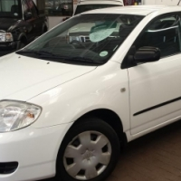 2007 Toyota Corolla 160i GLE with 112000Km's Full Service History, with Aircon