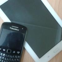 Samsung Tab 3 Lite + Blackberry 9360