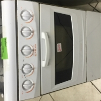 Atlas 4 Plates Gas Stove with Oven
