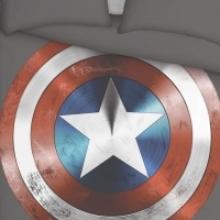 Batman, Captain America and other Superhero, Custom Printed Bedding Set