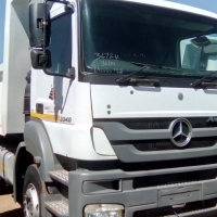 2010 mercedes benz axor 3340 with 10 cube tipper