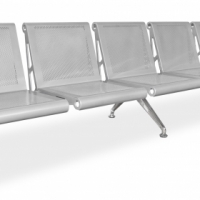Buy the 5 Seater Airport Public Seating bench online from Office Stock