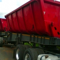 2007 TOP TRAILER 34 TON SIDE TIPPER FOR SALE