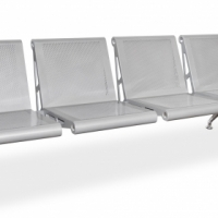 Buy the 4 seater Public Airport Seating Bench online from Office Stock