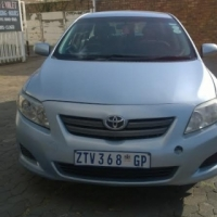 2009 Toyota corolla professional in good condition for R 85000.00