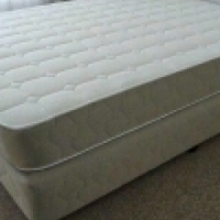 Double bed base and mattress brand new unused