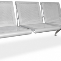 Buy 3 Seater Airport Public Seating Benches online from Office Stock