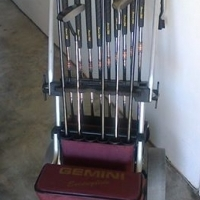Power Bilt full set golf clubs