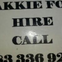 Johannesburg cbd Bakkie for hire