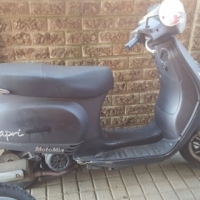 150 cc motomia scooter