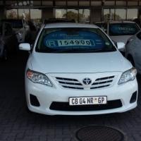 2012 Toyota Corolla 1.3 Heritage Edition 29,000 km's  .