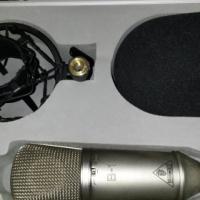 Behringer B1 Microphone + Pop Filter (multi-purpose)