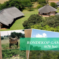 Rondekop Game Farm (676 ha) - Part of the Vredefort Dome World Heritage Site