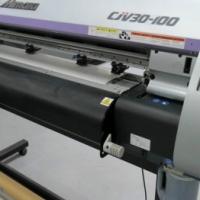 Mimaki CJV30-100 Printer Cutter Includes Take-Up Device – Demo