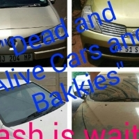 Cars and bakkies wanted for cash.