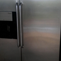 water and ice dispenser silver fridge for sale