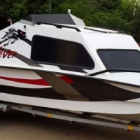 Cabin cruiser fishing boat for sale
