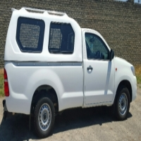 BRAND NEW TOYOTA HILUX 2005-2015 SINGLE CAB HI-LINER WHITE CANOPY FOR SALE!!!
