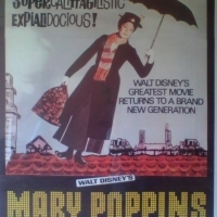 MARY POPPINS ORIGINAL 3-SHEET MOVIE POSTER