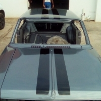 chevy nova coupe, rambler rogue chevy nova lookalike, hot rod, muscle car, v8