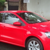 FINANCE AVALIABLE 2014 VW POLO6 PLAYA 1.4 C/LINE RED COLOUR